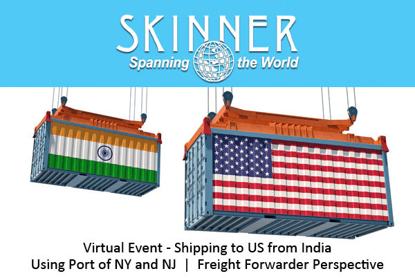 Webinar: Importing From India Using Port of NY and NJ